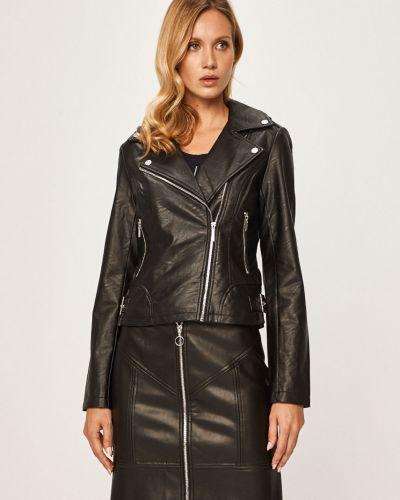 Кожаная куртка укороченная облегченная Morgan