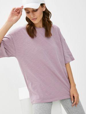 Фиолетовая футболка с короткими рукавами D.s