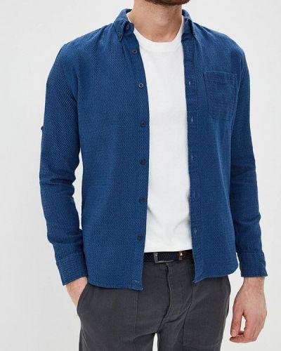 Рубашка с длинным рукавом синий Colin's