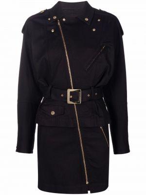 Платье макси длинное - черное Alexandre Vauthier