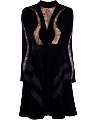 Вечернее платье со вставками из вискозы Elie Saab
