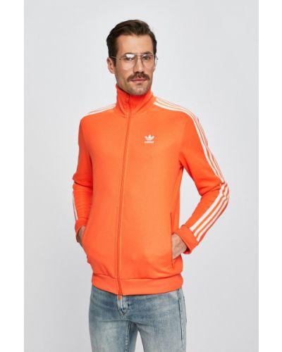 Кофта с капюшоном оранжевая Adidas Originals