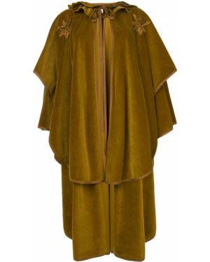 Narzutka koronkowa - zielona Versace Pre-owned