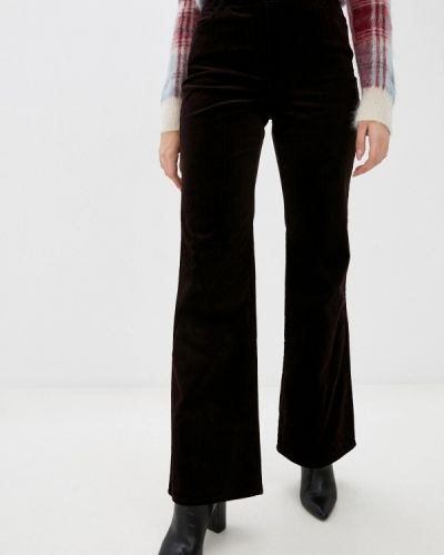Повседневные фиолетовые брюки Stefanel