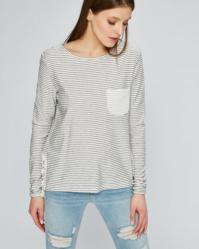 Белая блузка прямая Roxy