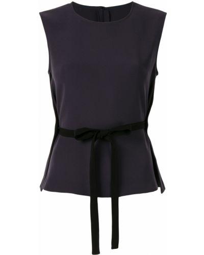 Блузка без рукавов с поясом без рукавов Knott