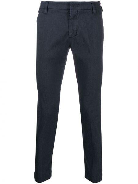 Зауженные брюки с поясом на пуговицах бязевые Entre Amis