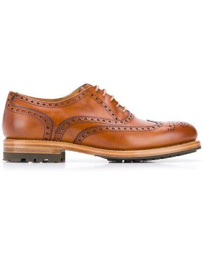 Броги коричневый Berwick Shoes