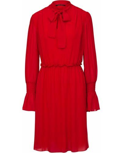 Красное платье миди Gaudì