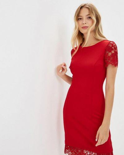 Красное платье осеннее Love Republic