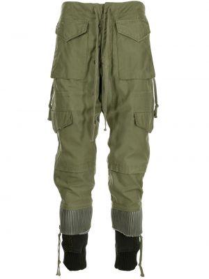 Черные брюки карго милитари Greg Lauren