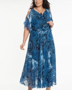 Летнее платье на бретелях платье-сарафан прима линия