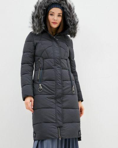 Серая утепленная куртка Winzor