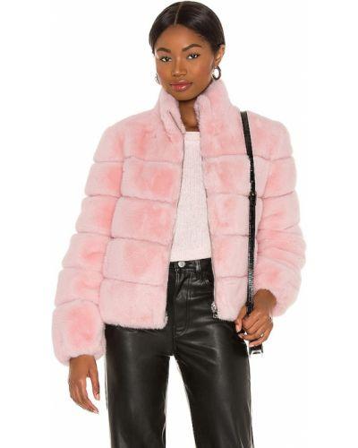 Розовая куртка из искусственного меха на молнии Generation Love