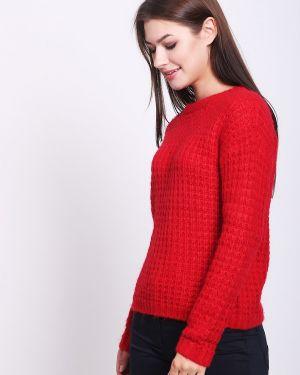 Пуловер красный зеленый S.oliver