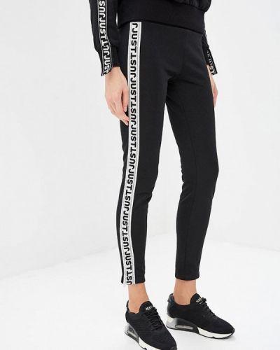 Черные брюки повседневные Just Cavalli