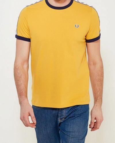 Желтая футболка Fred Perry