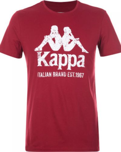 Спортивная футболка с логотипом хлопковая Kappa