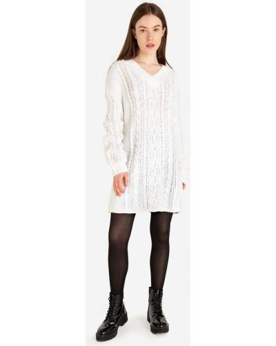 Джинсовое платье - белое Gloria Jeans