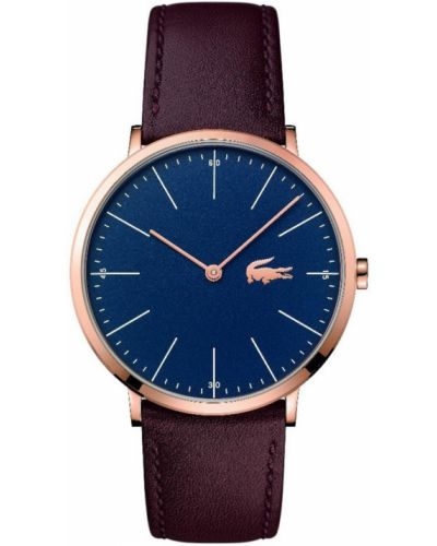 Часы водонепроницаемые универсальный коричневый Lacoste