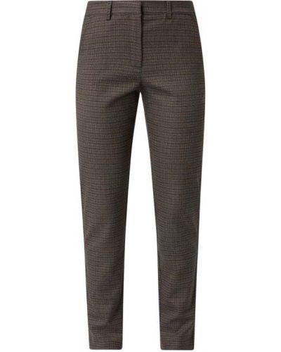 Spodnie z wiskozy - brązowe Saint Tropez