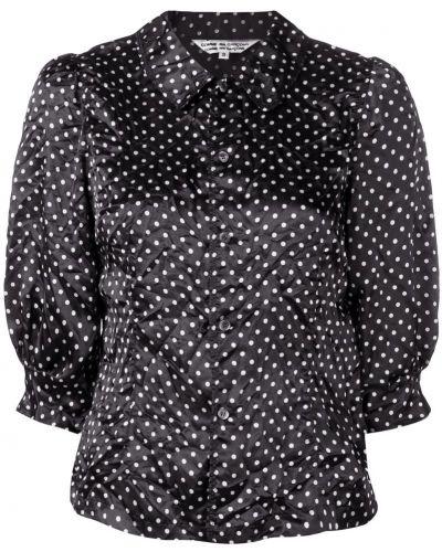 Классическая рубашка на пуговицах в горошек Comme Des Garçons Comme Des Garçons