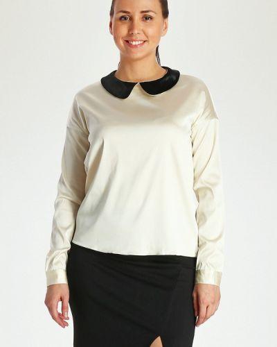 Блузка с длинным рукавом бежевый Marissimo