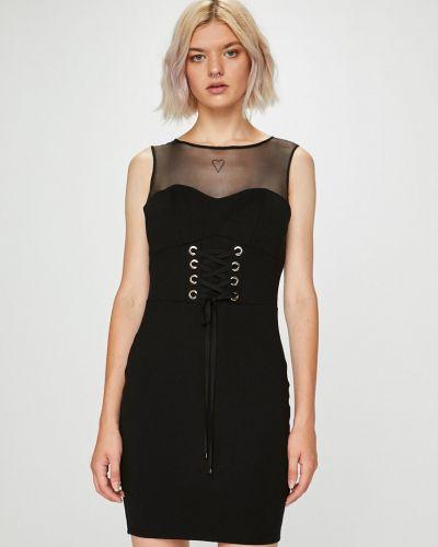 Джинсовое платье мини из вискозы Guess Jeans
