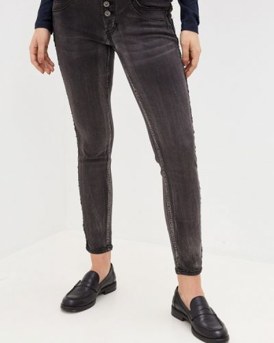 Серые джинсы-скинни узкого кроя Fresh Made