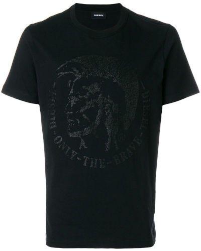 Хлопковая футболка Diesel