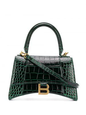 Кожаная сумка - зеленая Balenciaga