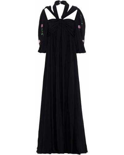 Czarna włoska sukienka Vivetta