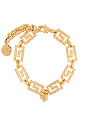 Złota bransoletka ze złota Versace