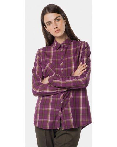 Рубашка с длинным рукавом фиолетовый Mr520