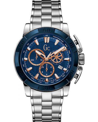 Часы водонепроницаемые швейцарские синий Gc