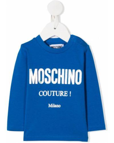 Koszula z logo Moschino Kids