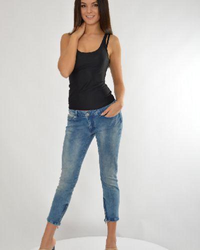 Джинсы-скинни с заклепками летние Liu Jo Jeans