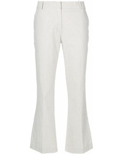 Бежевые укороченные брюки Kiltie