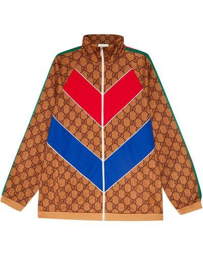 Олимпийка красная широкий Gucci