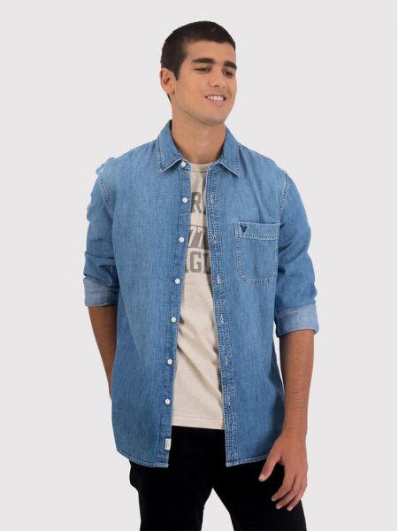 Koszula jeansowa - niebieska American Eagle