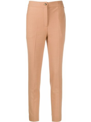 Шерстяные брюки - бежевые Twin-set