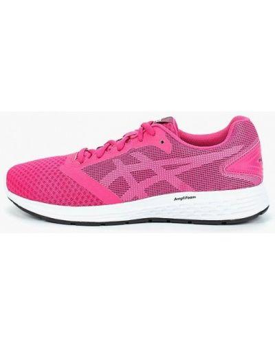 Розовые кроссовки низкие Asics