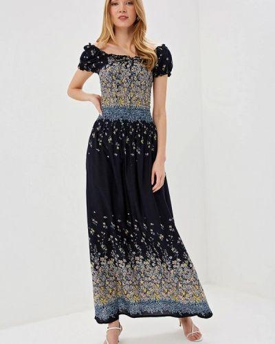 Платье с открытыми плечами весеннее Bruebeck
