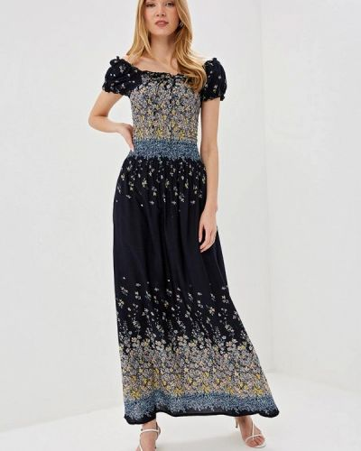 Платье - синее Bruebeck