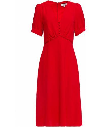 Расклешенное платье из крепа с подкладкой Paul & Joe