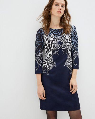 Повседневное синее платье Cavalli Class