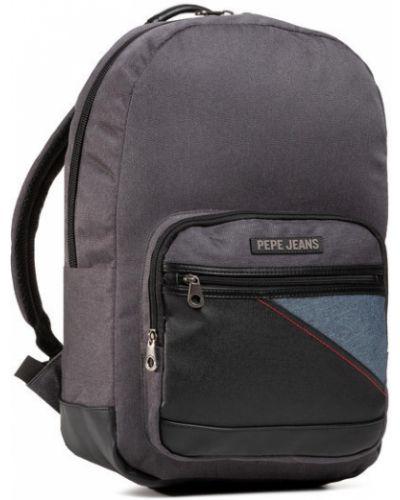 Szary plecak Pepe Jeans