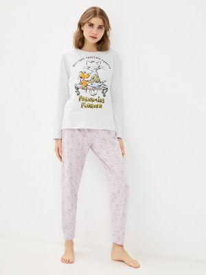 Пижамная фиолетовая пижама Nymos