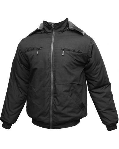 Куртка милитари - черная Rozetka