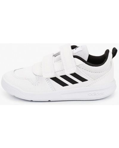 Кожаные белые кроссовки Adidas